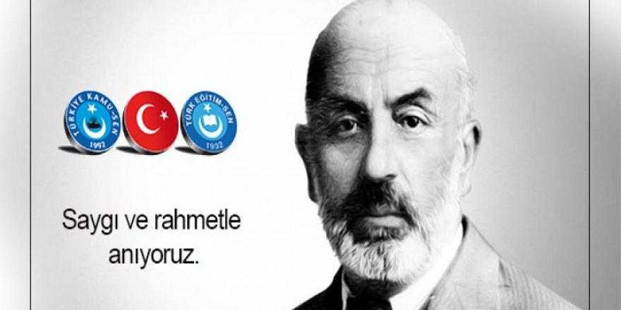 Aramızdan Ayrılışının 82. Yıldönümünde Mehmet Akif Ersoy'u Rahmetle Anıyoruz