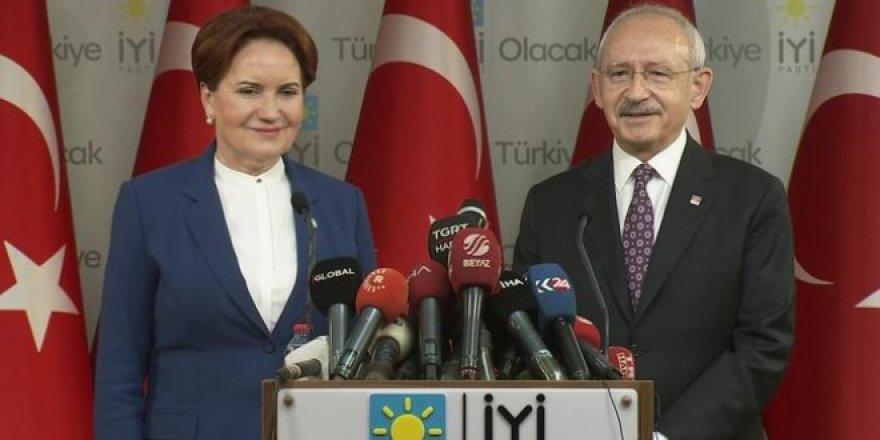 CHP ile İYİ Parti 22'si büyükşehir 49 ilde işbirliği yapacak