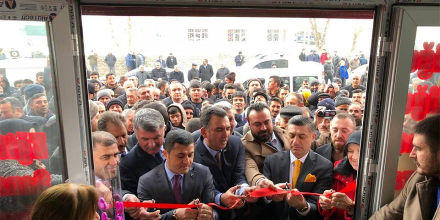 MHP Kars Seçim Koordinasyon Merkezi'ne Coşkulu Açılış