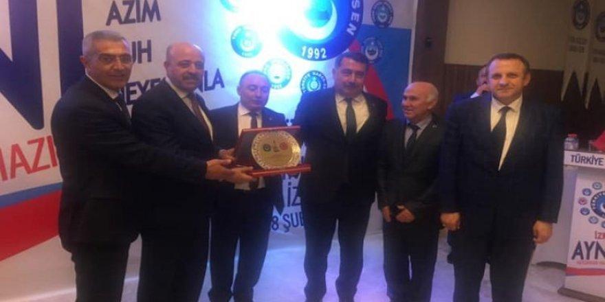 Musa Akkaş ve  M. Yaşar Şahindoğan, İzmir Programına Katıldı