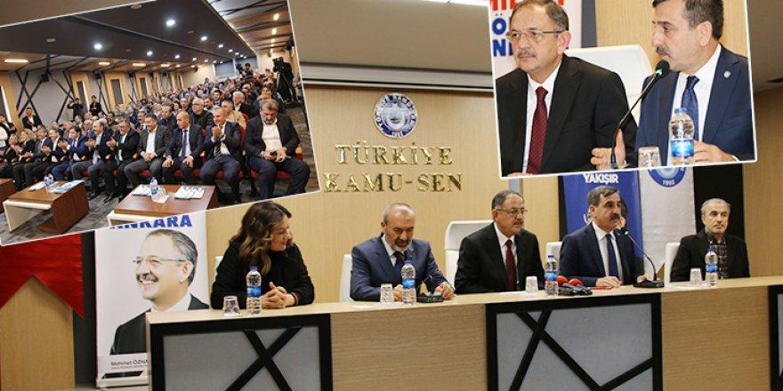 Cumhur İttifakı, Türkiye Kamu-Sen'den Destek İstedi!