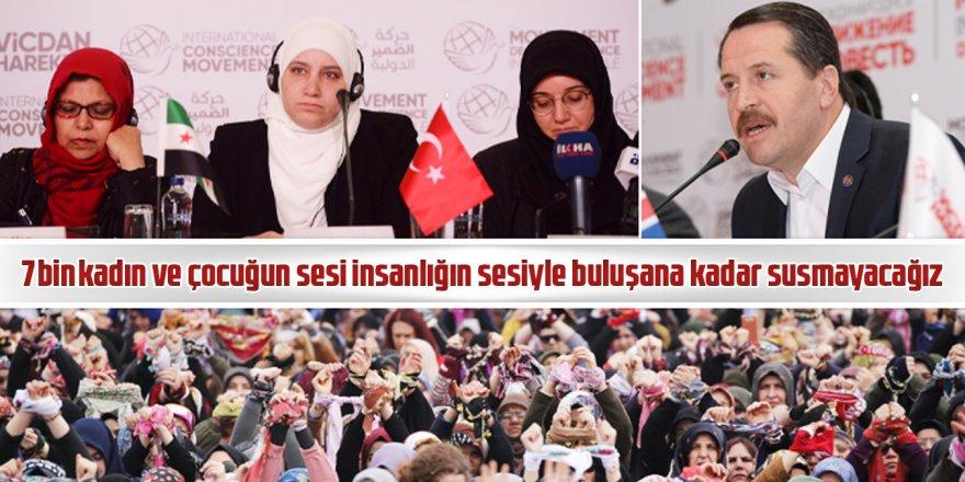 Ali Yalçın: Bu sesi sağır kulaklara duyuruncaya kadar susmayacağız