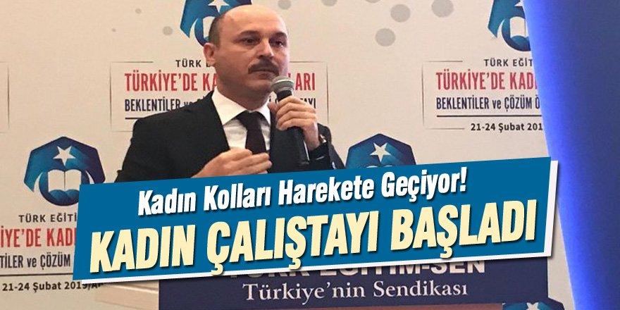 Türk Eğitim-Sen'li Kadınlar Sahaya Çıkıyor!