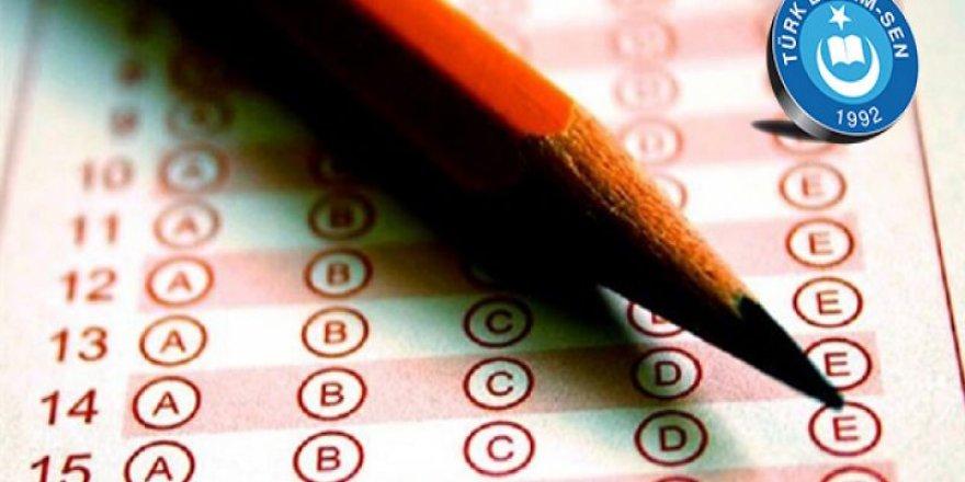 Eğitimcilerden sınav ücreti alınmasın