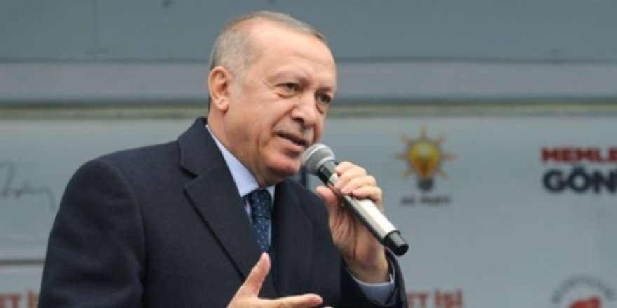 Erdoğan: Bizim Kürdistan diye bir bölgemiz yok