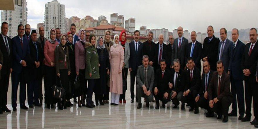 Türkmeneli Eğitim Müfettişlerinden Kamu-Sen'e Ziyaret