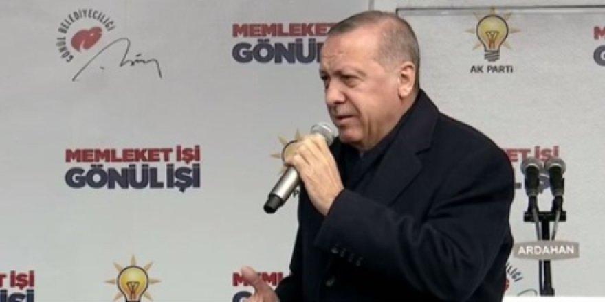 Erdoğan: Fiyatlar yerine gelirse sahadan çekiliriz