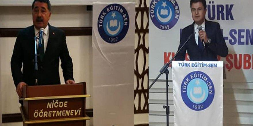 Mehmet Yaşar Şahindoğan ve Selahattin Dolğun Aksaray, Niğde ve Kırşehir'de