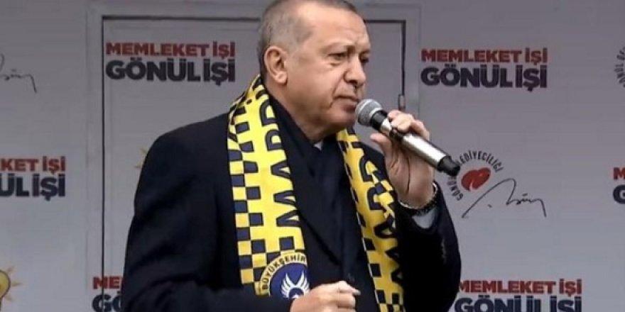 Erdoğan: Şu anda avukatlarımı görevlendirdim