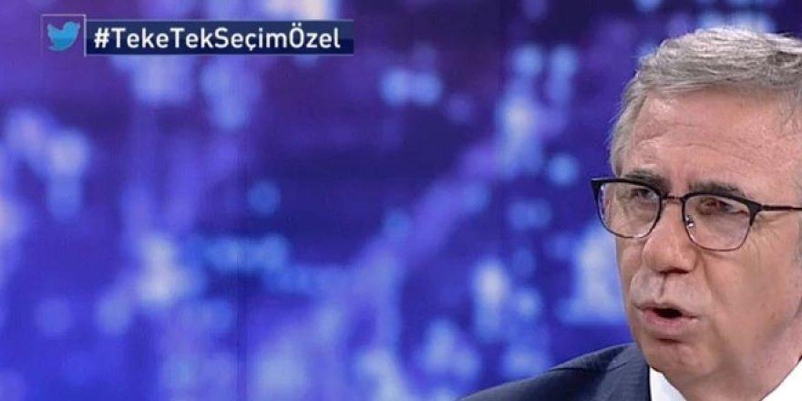 Mansur Yavaş: HDP'lileri terörist olarak görmüyorum