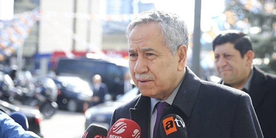 Arınç: Erdoğan'a gidip 'bana görev verin' dedim
