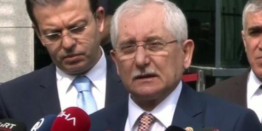 YSK Başkanı'ndan seçim sonuçları için son dakika açıklama!