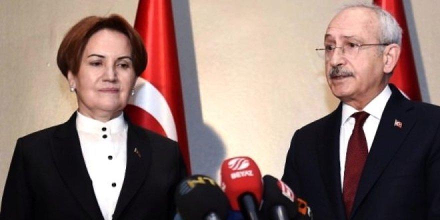Kılıçdaroğlu ve Akşener, seçim iptalini görüştü
