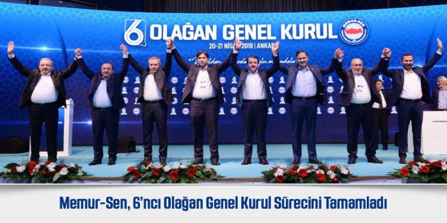 Memur-Sen'in yeni yönetim kurulu belli oldu