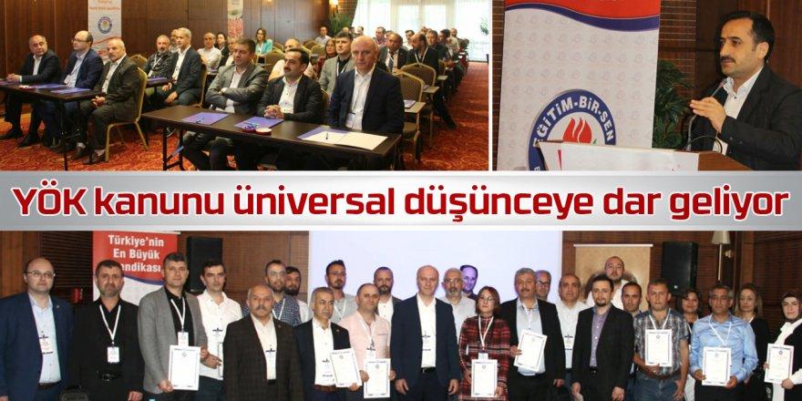 Ramazan Çakırcı: YÖK kanunu üniversal düşünceye dar geliyor