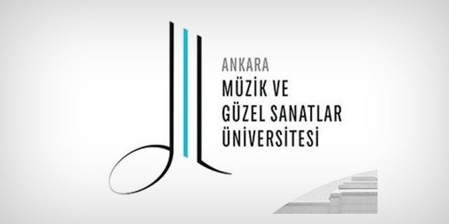 Ankara Müzik ve Güzel Sanatlar Üniversitesi öğretim üyesi alım ilanı