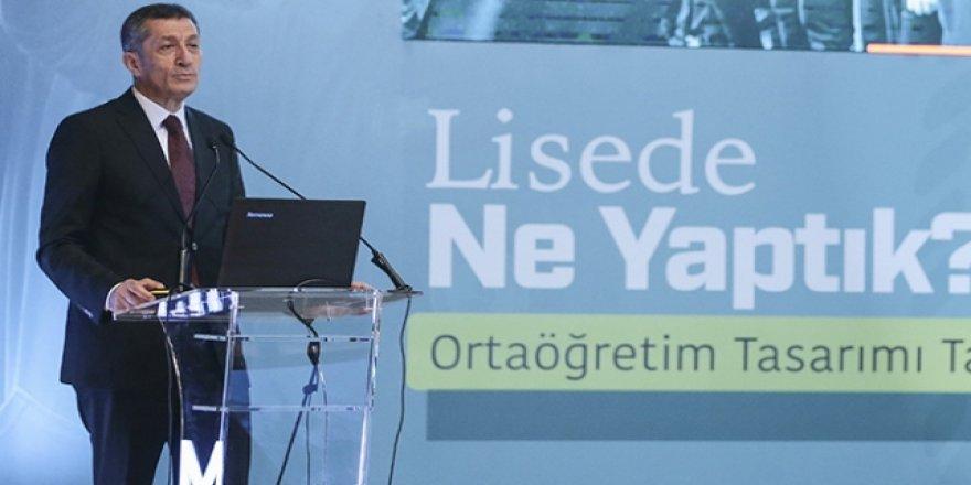 Bakan Selçuk, liseler için yeni eğitim modelinin ayrıntılarını açıkladı