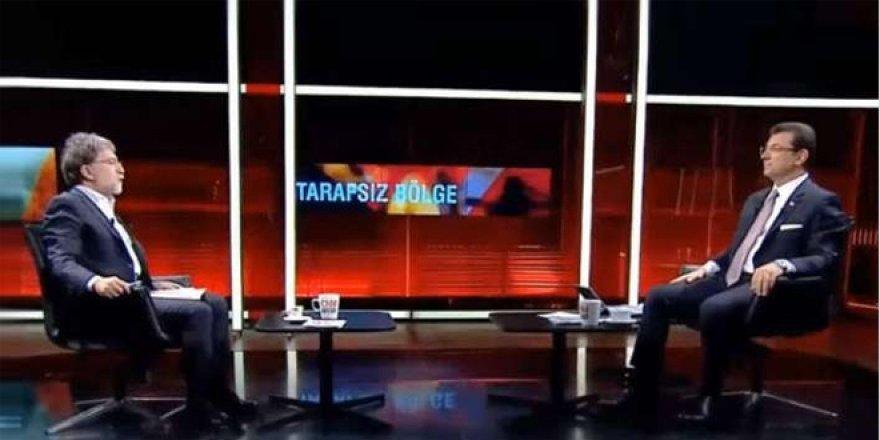 Ahmet Hakan'dan İmamoğlu açıklaması