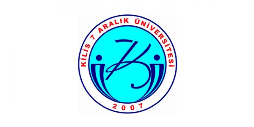 Kilis 7 Aralık Üniversitesi Öğretim Üyesi Alım İlanı