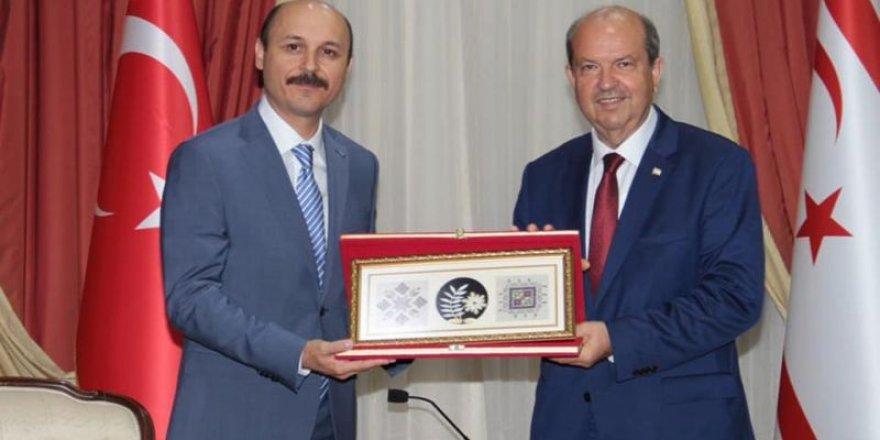 Talip Geylan'dan KKTC Başbakanı Tatar'a Ziyaret