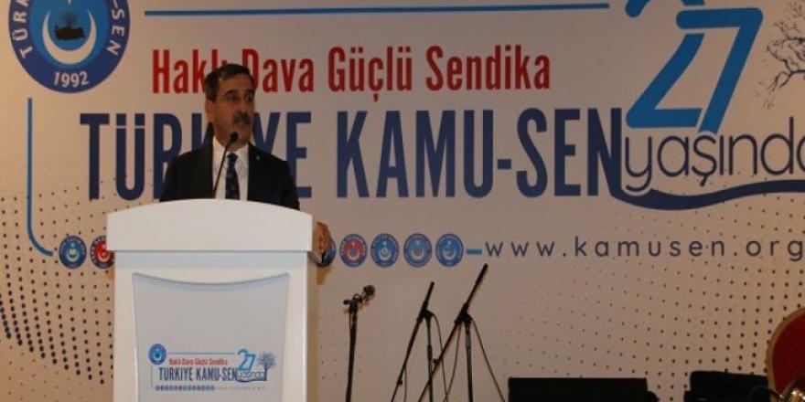 Türkiye Kamu-Sen 27. Yaşını Coşkuyla Kutladı