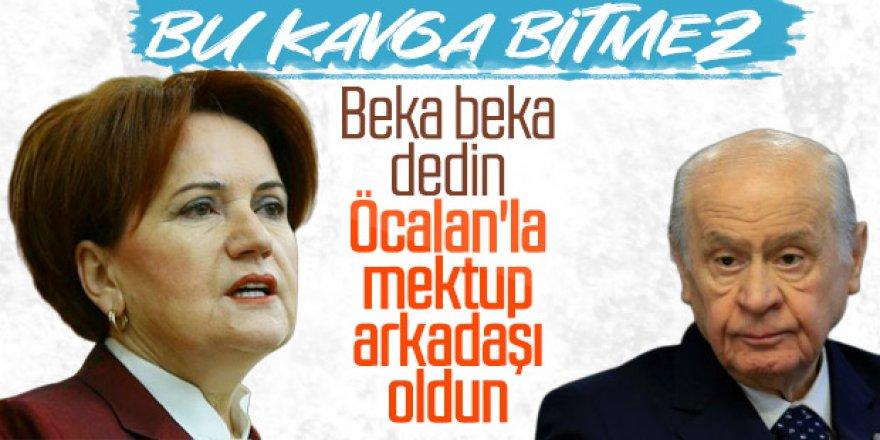 Meral Akşener'den Öcalan mektubu eleştirisi