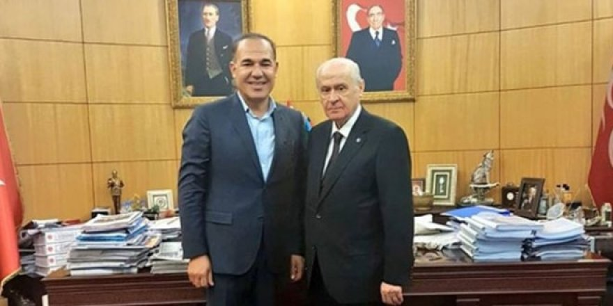 Fark yiyen belediye başkanı, Bahçeli'ye danışman oldu