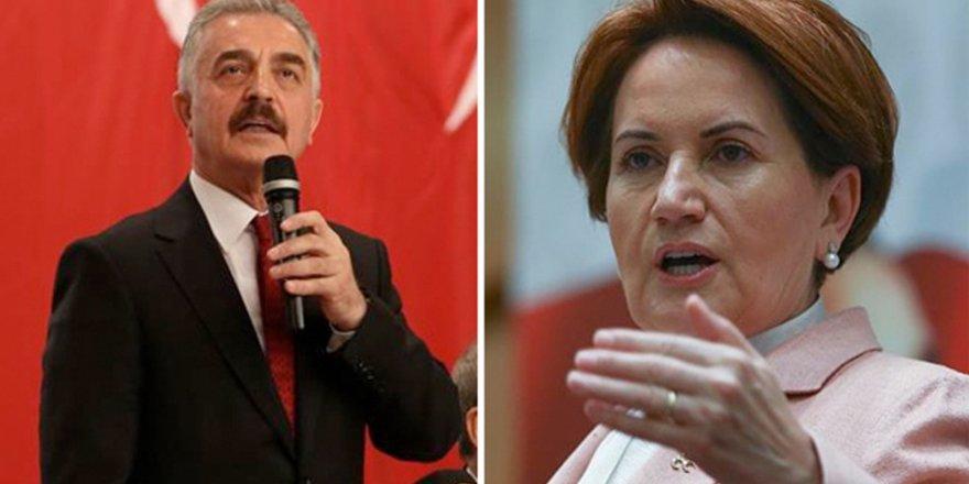 MHP Genel Sekreteri'nden Akşener'e: İP'in ucundaki hanımefendi...