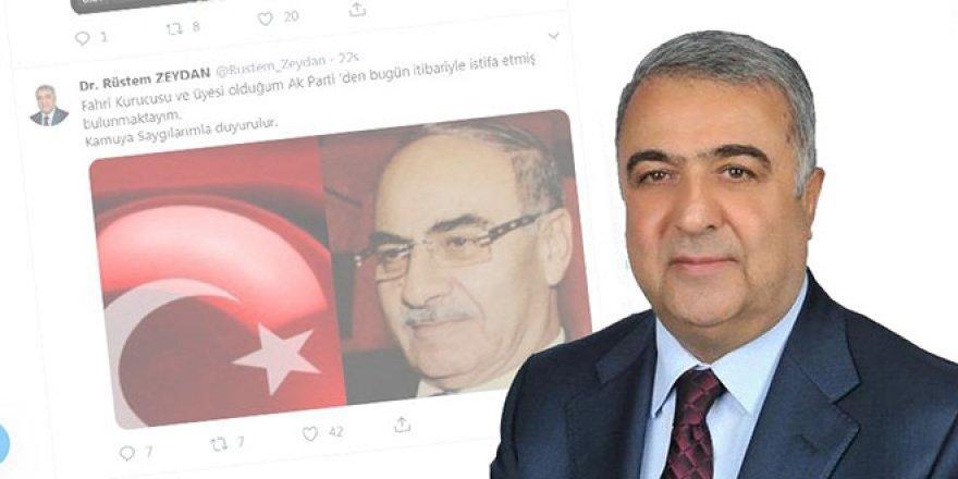 AK Parti'de kritik istifa