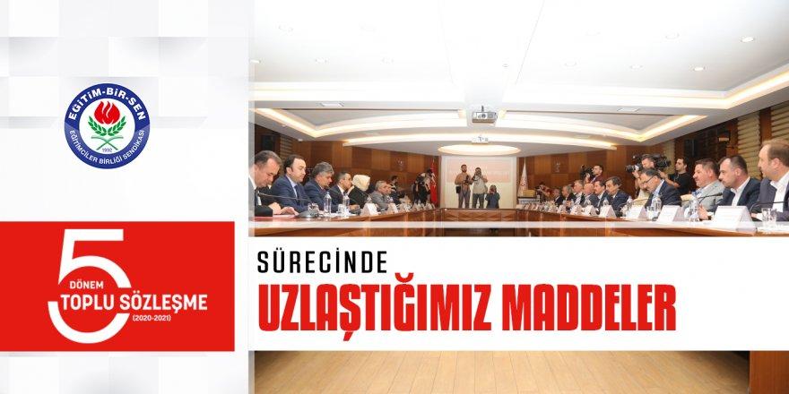 Ali Yalçın, Toplu Sözleşmede Uzlaşma Sağlanan Maddeleri Açıkladı