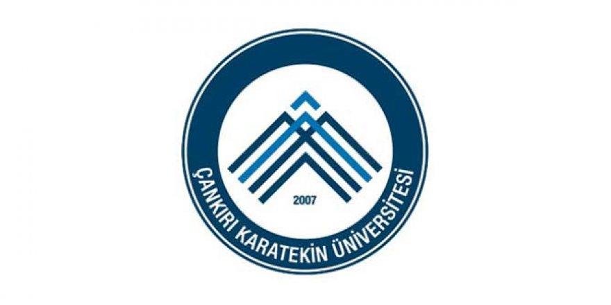 Çankırı Karatekin Üniversitesi Öğretim Elemanı Alım İlanı