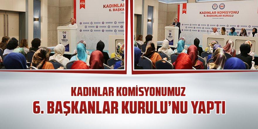 Eğitim-Bir-Sen Kadınlar Komisyonu 6. Başkanlar Kurulu'nu yaptı