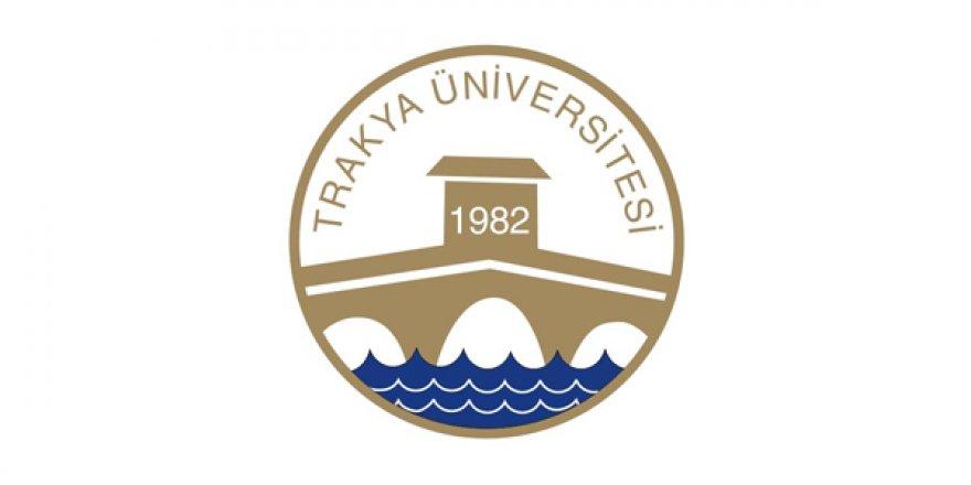 Trakya Üniversitesi Öğretim Üyesi Alım İlanı