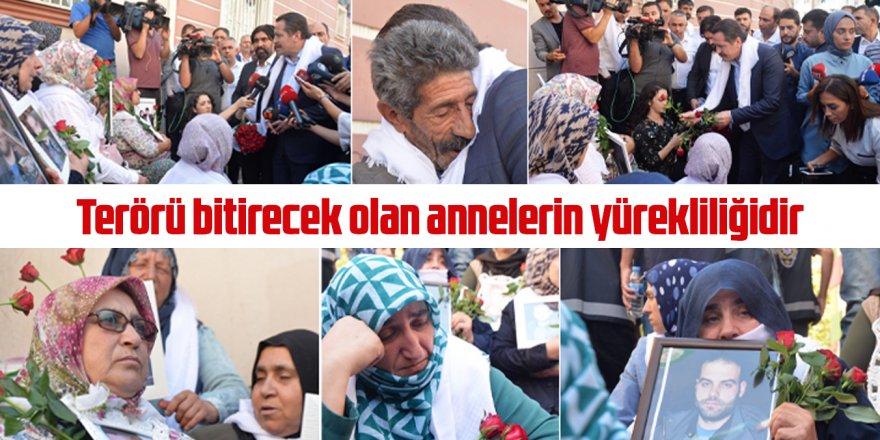 Ali Yalçın'dan Oturma Eylemi Yapan Annelere Destek!