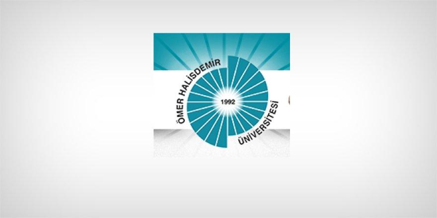 Niğde Ömer Halisdemir Üniversitesi Öğretim Üyesi Alım İlanı