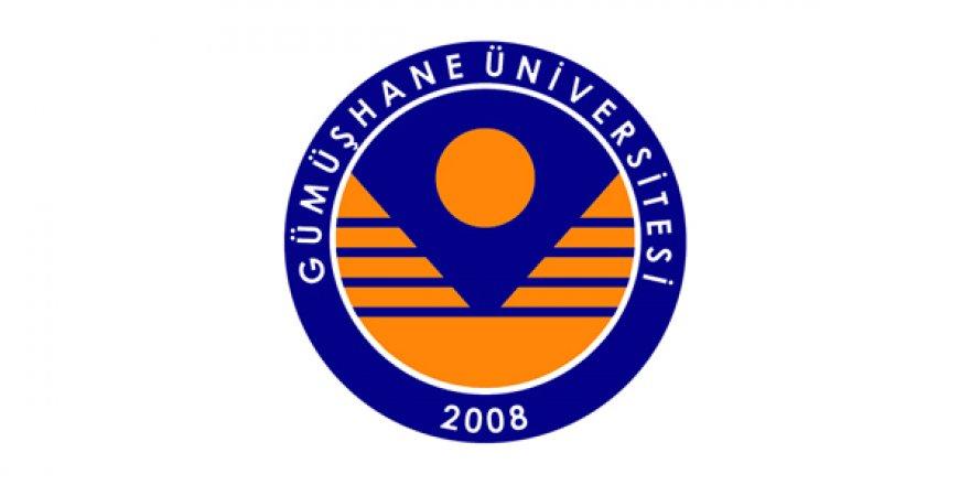 Gümüşhane Üniversitesi Öğretim Üyesi Alım İlanı
