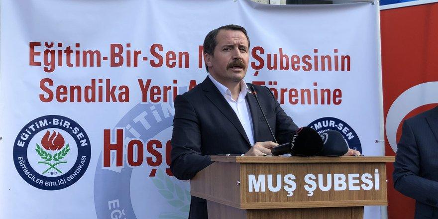Ali Yalçın: Alın terimizin karşılığını almak için mücadele ediyoruz