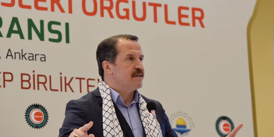 Ali Yalçın: İnsanlık için Kudüs'ü, Kudüs için insanlığı savunuyoruz