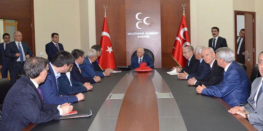 Türkiye -AB KİK Üyelerinden Bahçeli ve Kılıçdaroğlu'na Ziyaret
