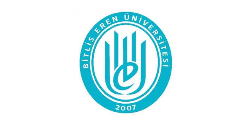Bitlis Eren Üniversitesi Öğretim Üyesi Alım İlanı