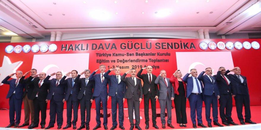 """Türkiye Kamu-Sen Başkanlar Kurulu """"Mehmetçiğe Selam Durarak"""" Başladı!"""