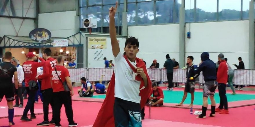 Genel Başkan Ali Yalçın'ın Oğlu Dünya Şampiyonu Oldu!