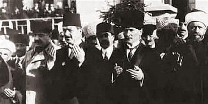 Hutbede ismi Atatürk yasaklamış