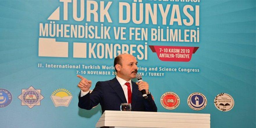 7 Ülkeden 650 Bilim İnsanı, Türk Dünyası Mühendislik ve Fen Bilimleri Kongresi'nde Buluştu!