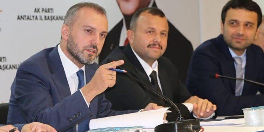 'AK Parti'de bir kısım istifalar olacak'
