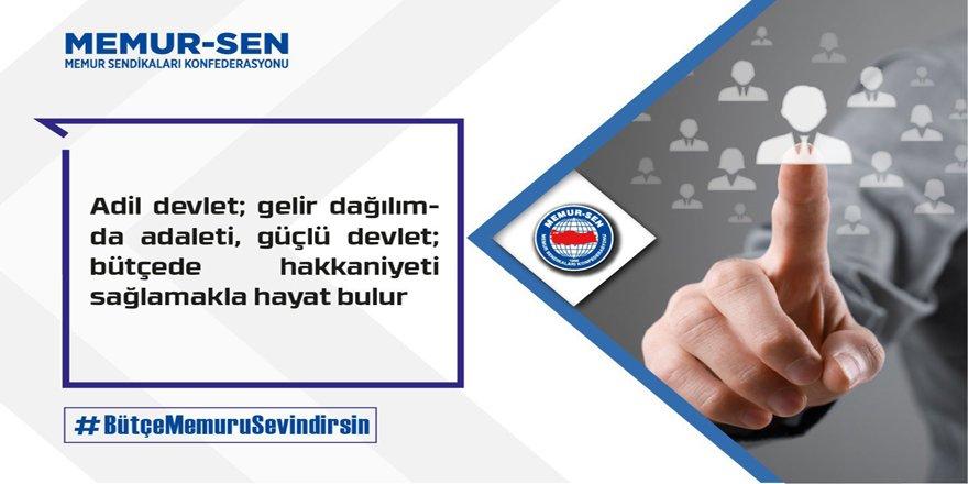 Ali Yalçın'dan Hükümete Çağrı: #BütçeMemuruSevindirsin