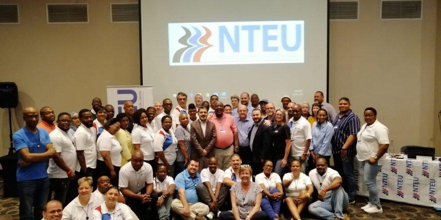 Şükrü Kolukısa, Güney Afrika'da NTEU'nun Genel Kuruluna Katıldı