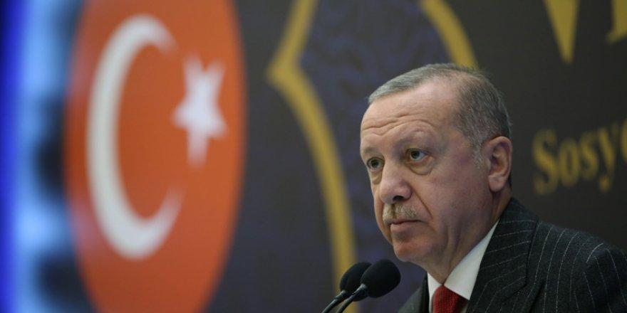 Erdoğan'dan, Alevilere saldırıya tepki