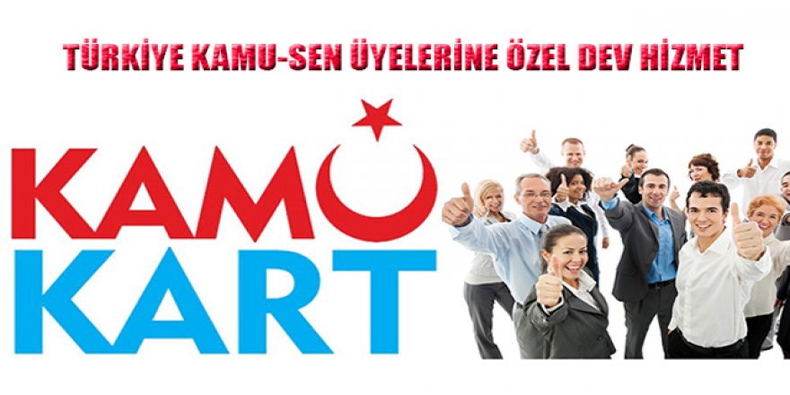 """Önder Kahveci, """"Kamukart Hizmetimiz Faaliyete Geçti"""""""