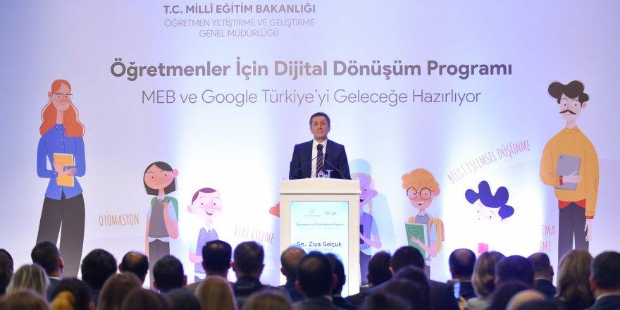 1 Milyon Öğretmen İçin Dijital Dönüşüm Programı Başlıyor